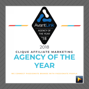 Affiliate Agency of the Year