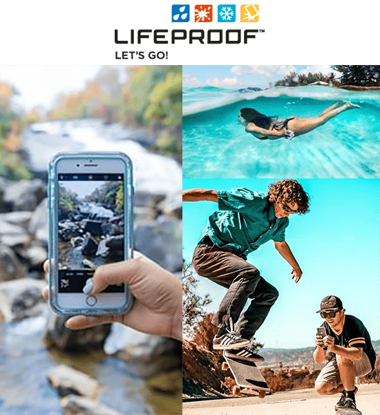 lifeproof collage